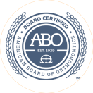 ABO certified orthodontist